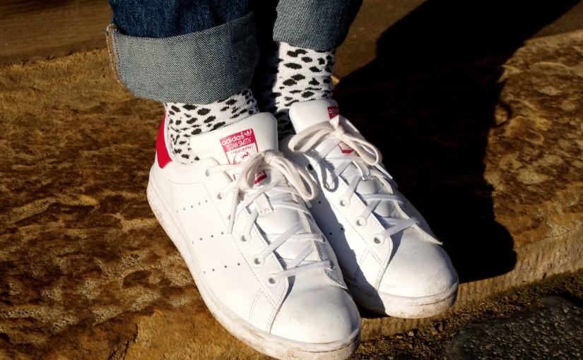 Weiße Sneaker- ich? Pah
