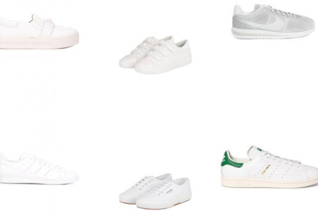 Die schönsten weißen Sneakers