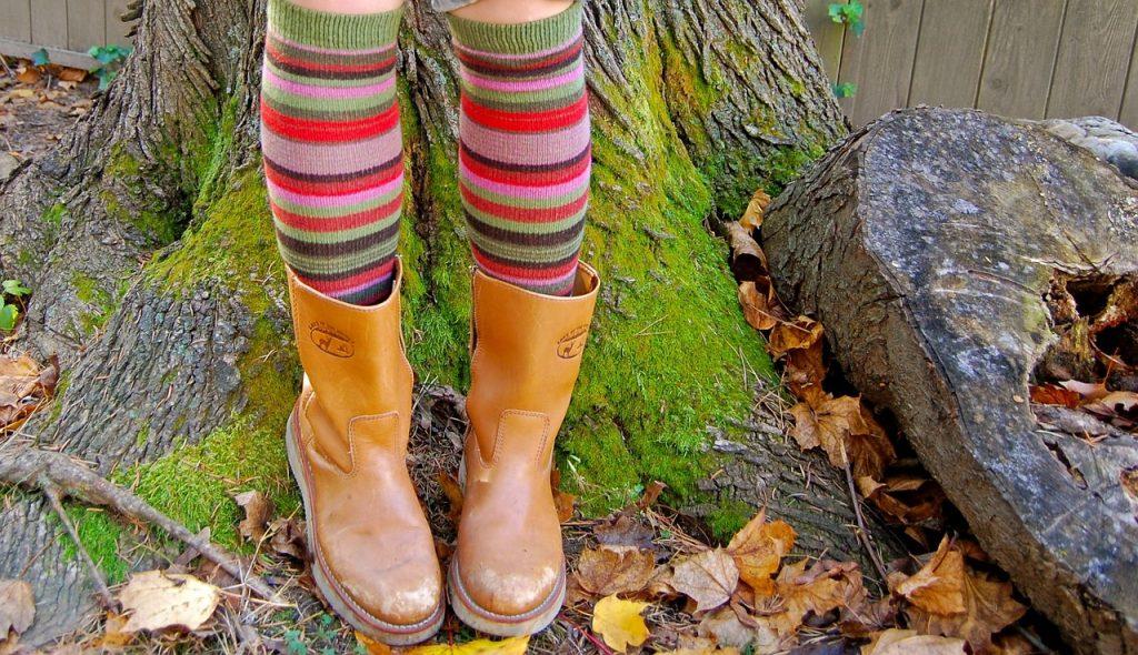 Musterstiefelchen – juhchuuu Herbst!