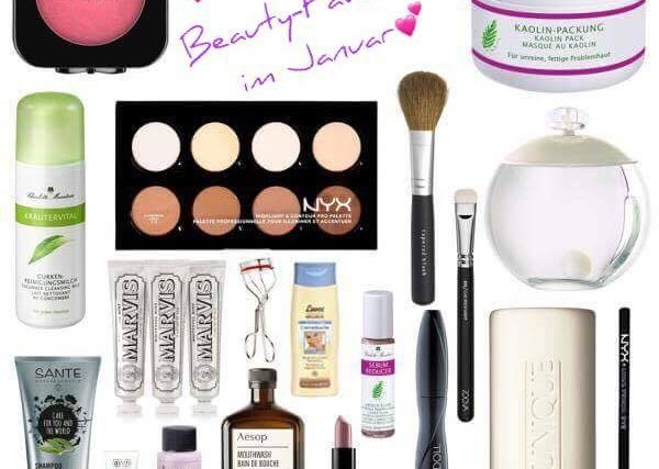 Helenes Beauty-Favoriten im Januar #beautybonbon