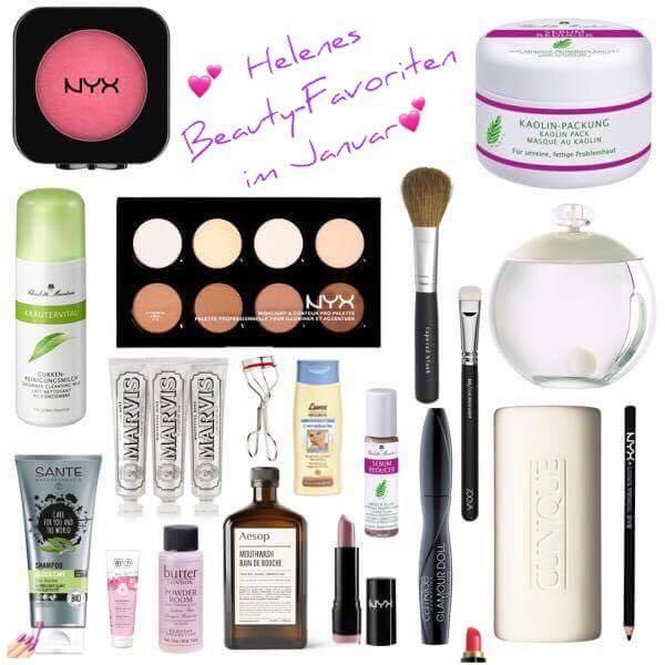 Helenes Beauty-Favoriten im Januar #beautybonbon